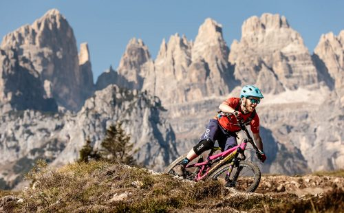 Mountain Bike tra le Dolomiti in Trentino