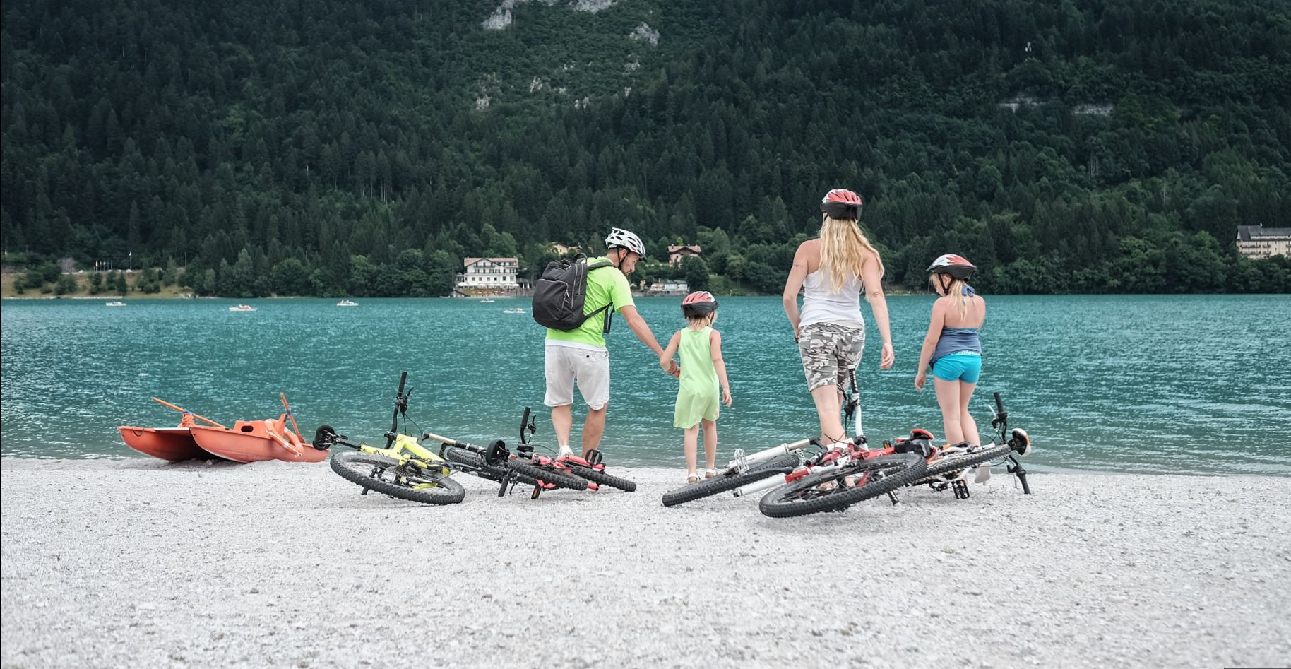 Percorsi di Mountain Bike per famiglie